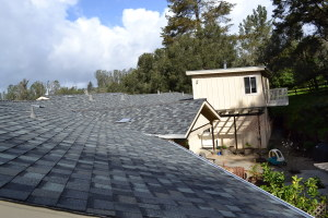 Composite Shingle and Gutters in Aptos 02