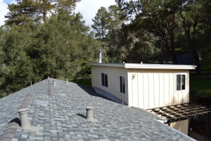 Composite Shingle and Gutters in Aptos 01