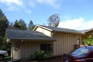 Composite Shingle and Gutters in Aptos 04