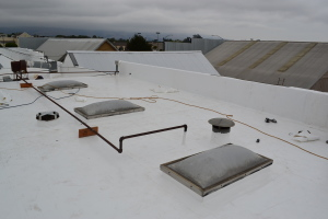 Duro-Last and Composite Commercial Roof Install Watsonville 03