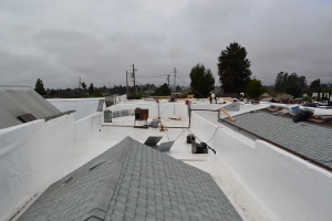 Duro-Last and Composite Commercial Roof Install Watsonville 02