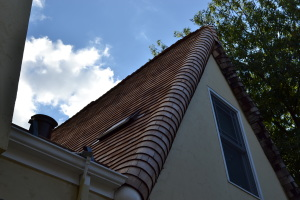 Steam Bent Wood Shingle Roof Install San Jose 03