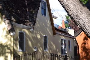 Steam Bent Wood Shingle Roof Install San Jose 02