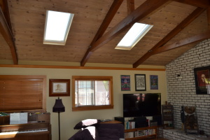 Comp Roof Gutters Skylights and Solar Live Oak 04