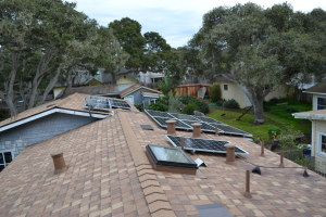 Composite Roof and Solar Install Pacific Grove 03