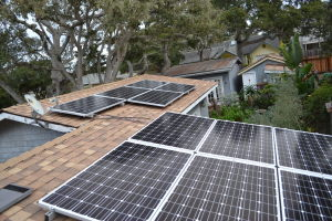 Composite Roof and Solar Install Pacific Grove 01