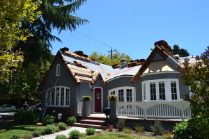 Moreno Roofing and Solar - San Jose, curved wodden shingle 08