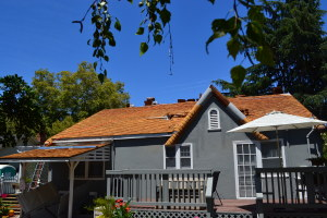 Moreno Roofing and Solar - San Jose, curved wodden shingle 09
