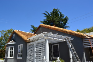 Moreno Roofing and Solar - San Jose, curved wodden shingle 010