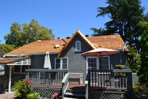 Moreno Roofing and Solar - San Jose, curved wodden shingle 022