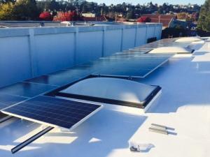 Commercial DuroLast and Solar Install Santa Cruz 03