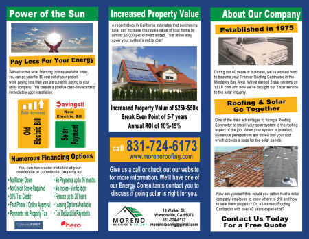 Expert Monterey Roofing Solutions For Over 40 Years Moreno Roofing Amp Solar Moreno Roofing And Solar New Roofs Roof Repairs Solar Leases